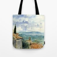A View Of Lacoste, Franc… Tote Bag