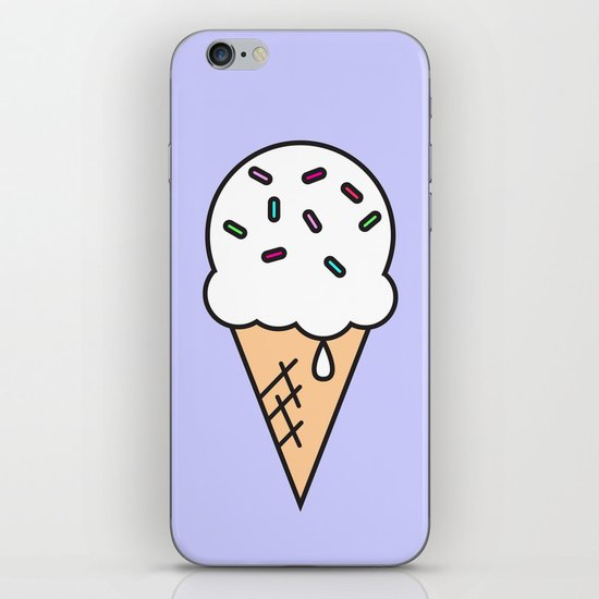 rainbow sprinkles iPhone & iPod Skin