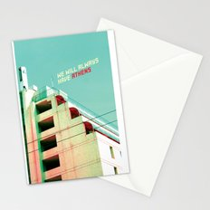 We Will Always Have Athens Stationery Cards
