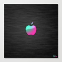 fresher than yours (pink lady) Canvas Print