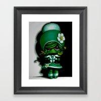 Lil' Medusa Framed Art Print