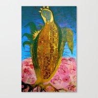 Corn Maiden Canvas Print