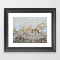 Grunge Wall Framed Art Print