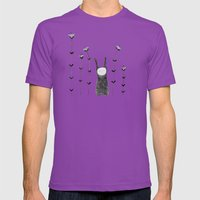orejas Mens Fitted Tee Ultraviolet SMALL