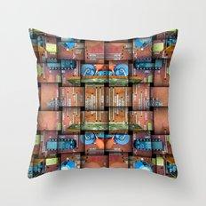 Macho City 004 Throw Pillow