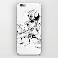 _life Like A Fly iPhone & iPod Skin