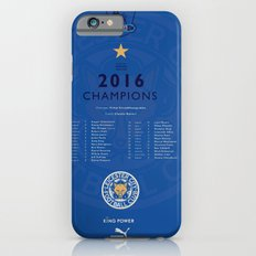 Tribute to Leicester Football Club - 2016 Premier League Champions, BLUE version Slim Case iPhone 6s