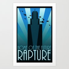 Home of the Future Art Print