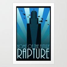 Home of the Future Art Print