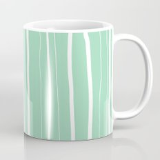 Vertical Living Mint Mug