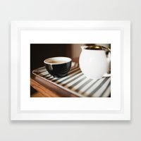 Tea Framed Art Print