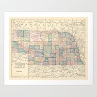 Nebraska Remembered Art Print