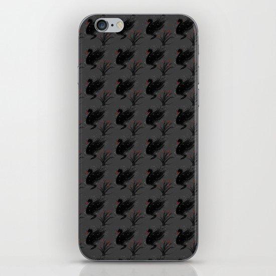 Winter Black Swan iPhone & iPod Skin