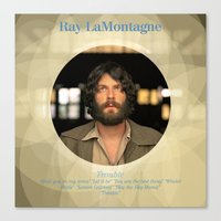 Album Cover Ray LaMontagne Canvas Print