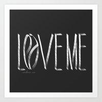 Love Me Or Leave Me Art Print