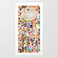 Sogni D'oro Dreamcatcher Art Print