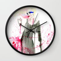 Here At The End Wall Clock