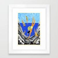 Pearl Divers I Framed Art Print