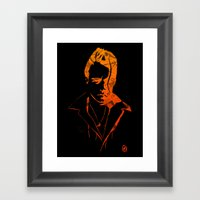 Lovelocked Black Framed Art Print