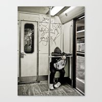 Keep Away Canvas Print