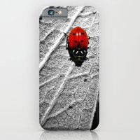 iPhone & iPod Case featuring Ladybug by Derek Fleener