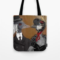 Demoiselle Crane And Gre… Tote Bag