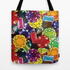 Gemstones Tote Bag