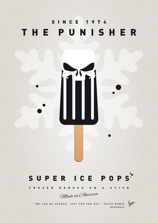 My SUPER ICE POP- No14 Art Print