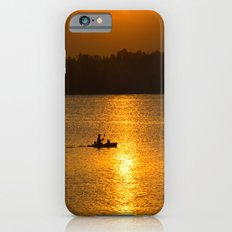 Sunset trip iPhone 6 Slim Case