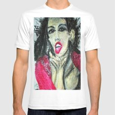 MIA  Mens Fitted Tee SMALL White