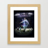 Alexis Sanchez Framed Art Print