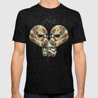ZOMBIE IMPERIAL TROOPER  Mens Fitted Tee Tri-Black SMALL