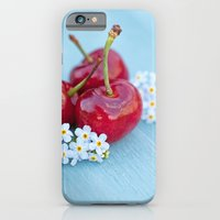 iPhone & iPod Case featuring Cherry Beauty by Isabelle Lafrance Photography