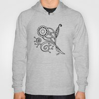 Ornate Square Zentangle,… Hoody