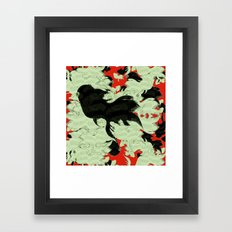 FISH PARADISE v3 Framed Art Print