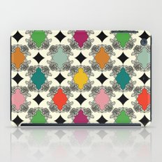 Moroccan Rose Motif iPad Case