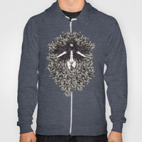 A Lady and her Skulls (Please give feedback) Hoody