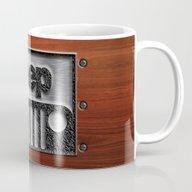 Embossed Steel Jeep Logo… Mug