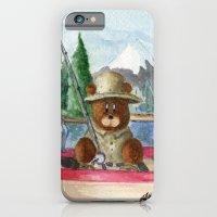 Fisherman Bear iPhone 6 Slim Case