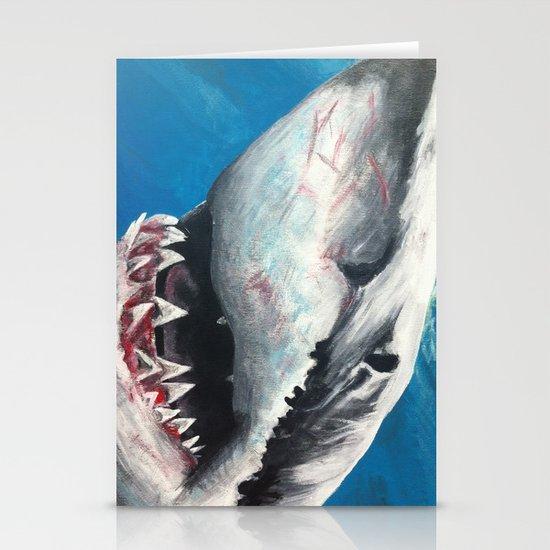 Shark Stationery Card