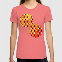 Circus Womens Fitted Tee Pomegranate SMALL