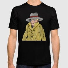 Vincent Adultman SMALL Mens Fitted Tee Black