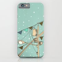 iPhone & iPod Case featuring Street Party by Pips Ebersole