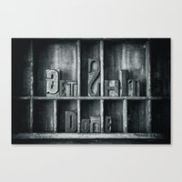 Get $*** Done Canvas Print