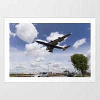British Airways Boeing 7… Art Print