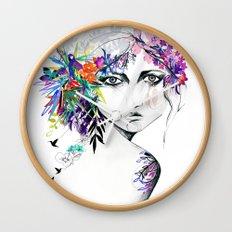 Exotic Girl Wall Clock