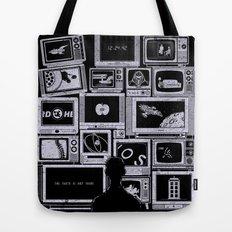 TV Addict Tote Bag