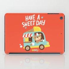 Ice Cream Bear iPad Case