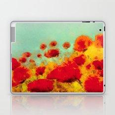 FLOWERS - Poppy time Laptop & iPad Skin