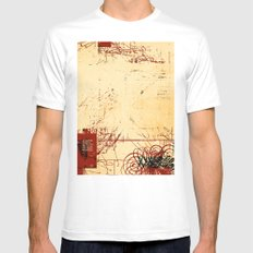 balance 20 SMALL Mens Fitted Tee White